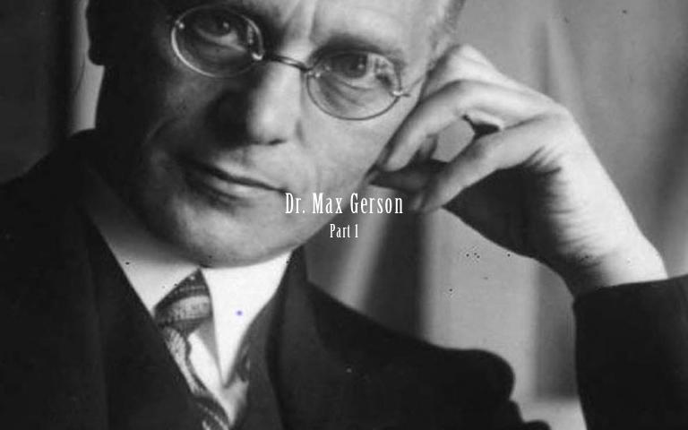 腸内洗浄(コーヒーエネマ)を世界中に知らしめたマックスゲルソン